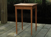Load image into Gallery viewer, Tapered Leg Side Table In Cherry - anderson-furniture-and-design