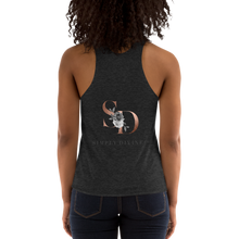 Load image into Gallery viewer, Women's Tri-Blend Racerback Tank Simply Divine