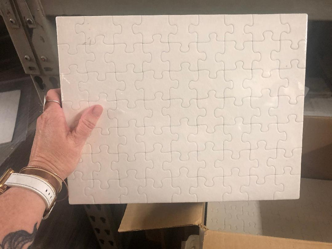 SUBLIMATABLE PUZZLE
