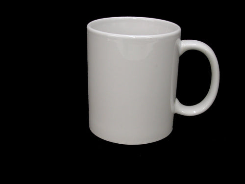 11 OZ and 15 OZ WHITE SUBLIMATABLE MUGS