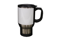 Load image into Gallery viewer, 14 OZ. SUBLIMATABLE TRAVEL MUG