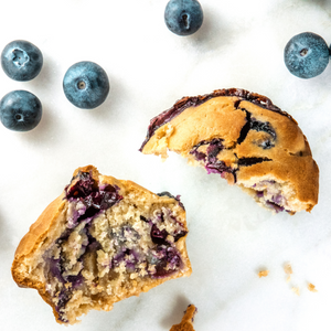 Blueberry or Chocolate Chip Muffins