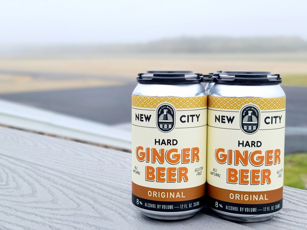 New City Brewery Ginger Beer