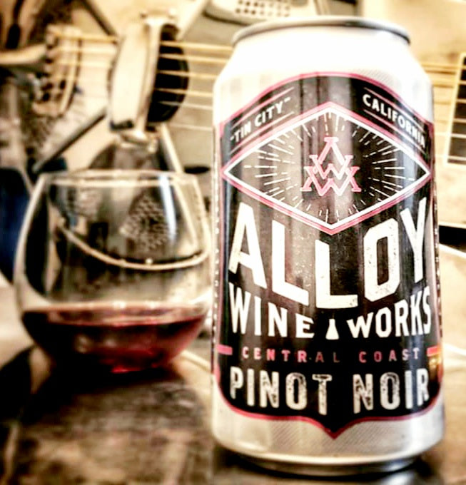 Alloy Wine Works Central Coast Pinot Noir