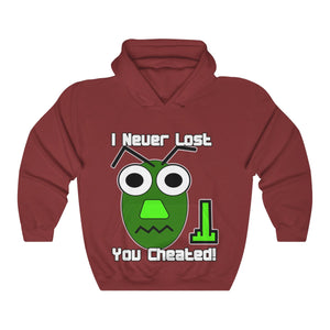 I Never Lost You Cheated Hooded Sweatshirt