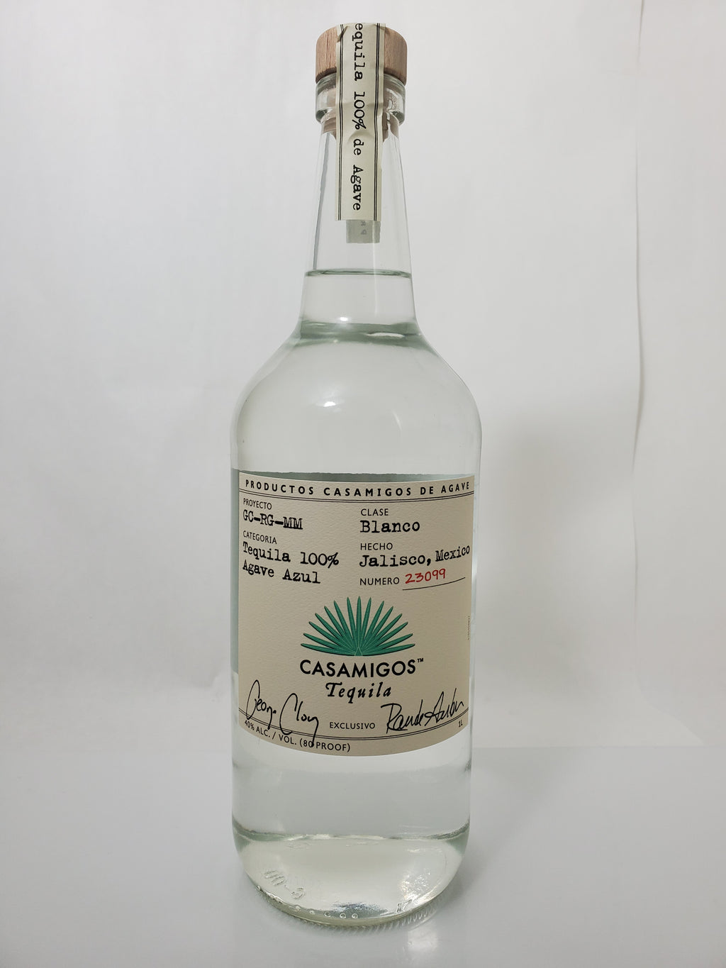 Casamigos Tequila Blanco 1 Liter
