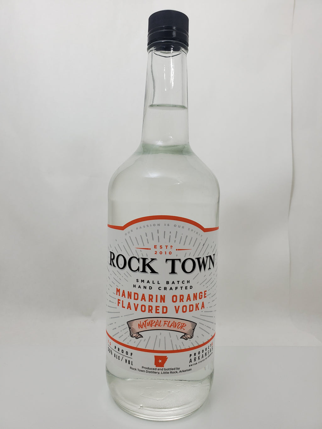Rocktown Orange Vodka 1 Liter