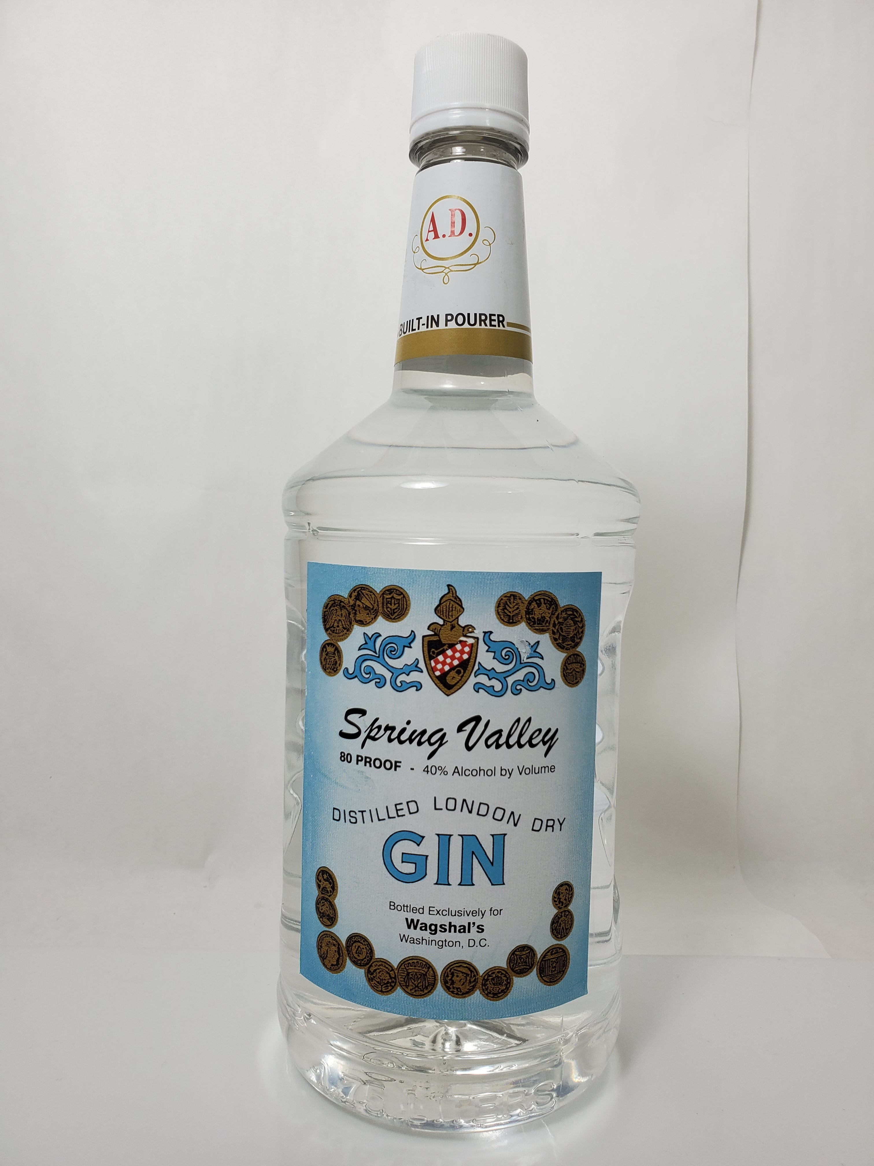 Spring Valley Gin 1.75 Liter