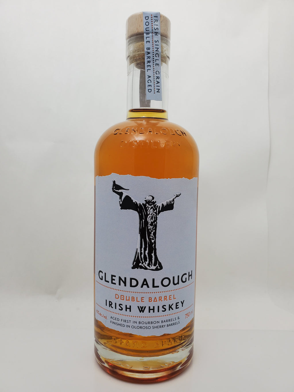 Glendalough Double Barel Irish Whiskey 750 ml