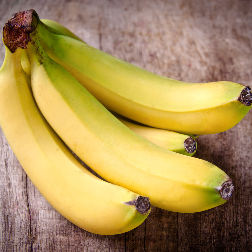 BANANAS (heavy green tipped) (by the pound)