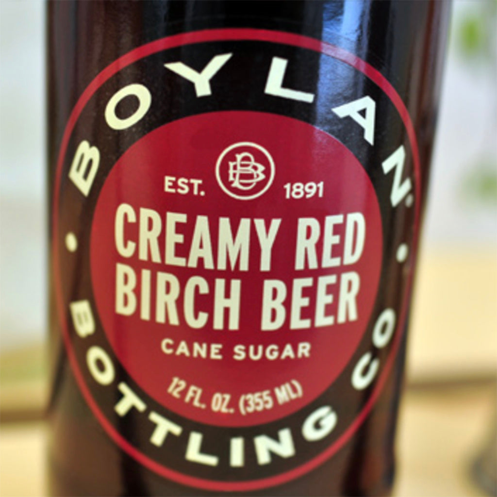 Boylan Creamy Red Birch Beer (4 pack)