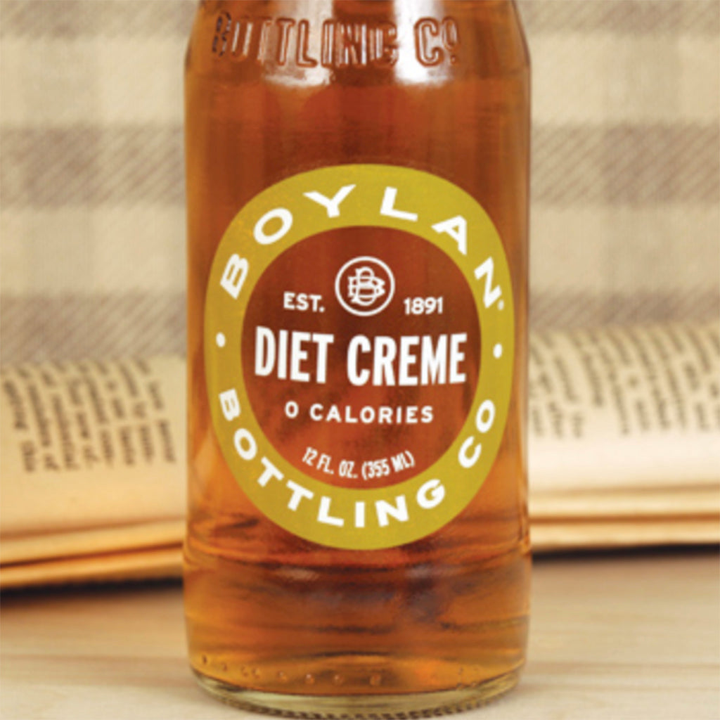 Boylan Diet Cream Soda (4 pack)