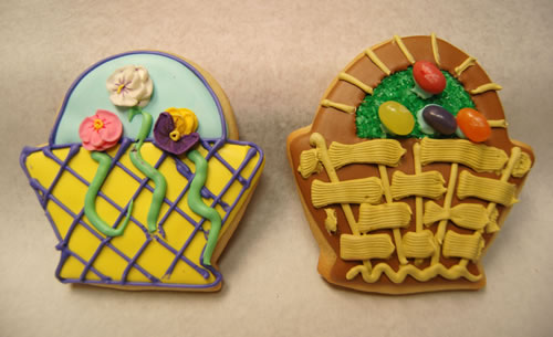 Large Hand Decorated Cookies