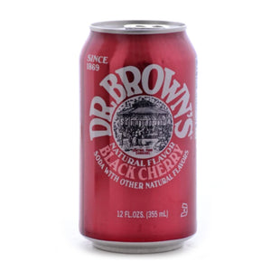 Dr. Brown's Black Cherry (6 pack)
