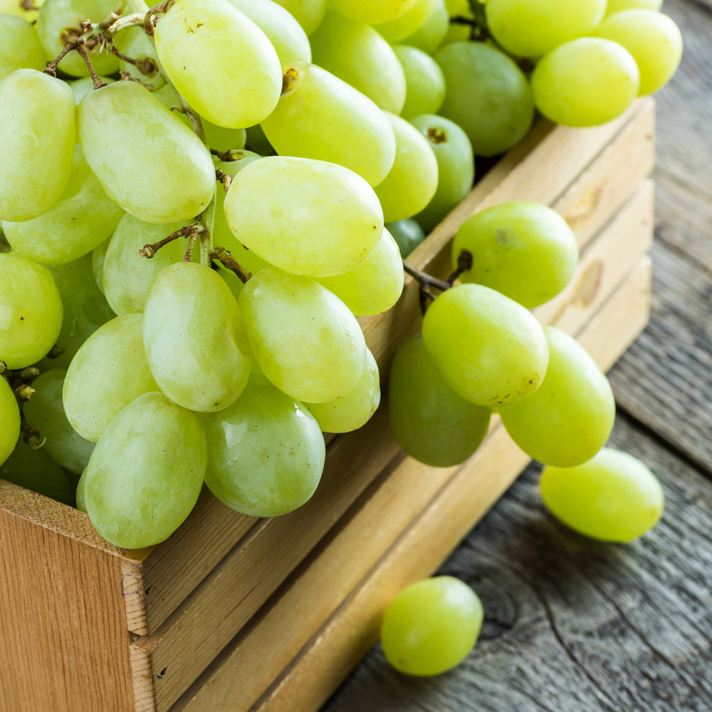 GRAPES, WHITE SEEDLESS (by the pound)