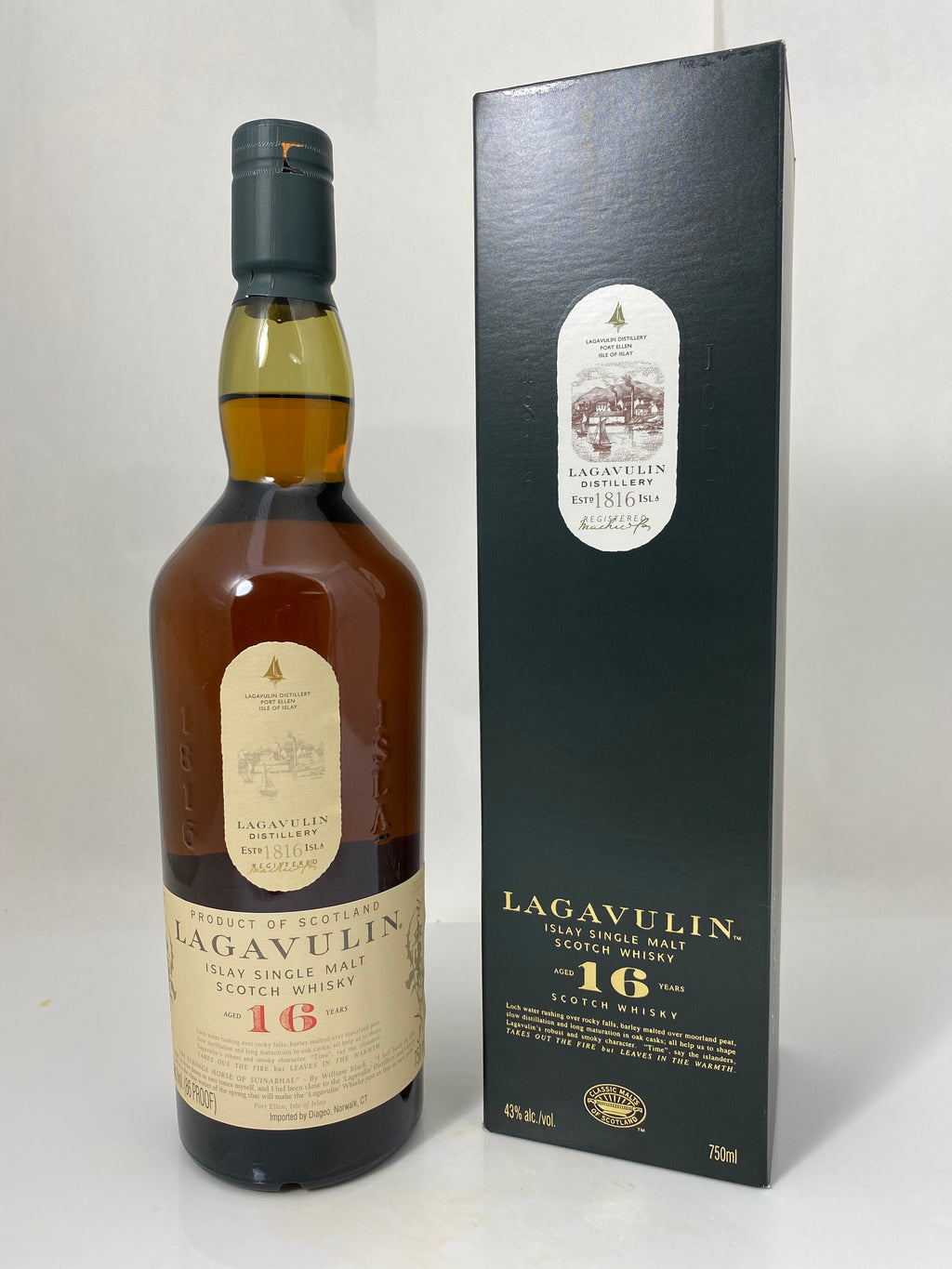 Lagavulin 16 Year Scotch Whiskey