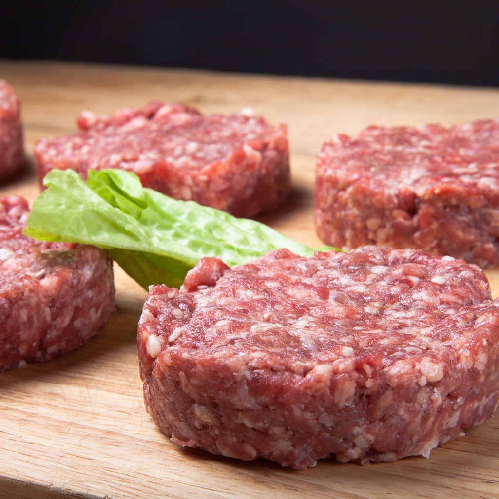 Seasoned Lamb Burgers