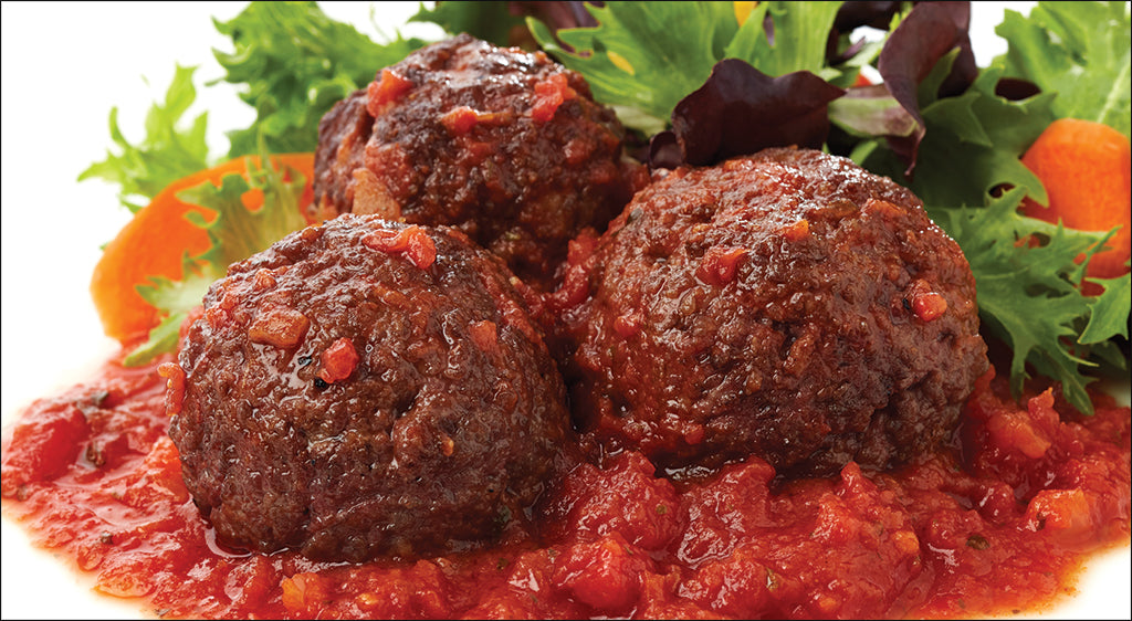 Meatballs and Marinara SERVES 2-3