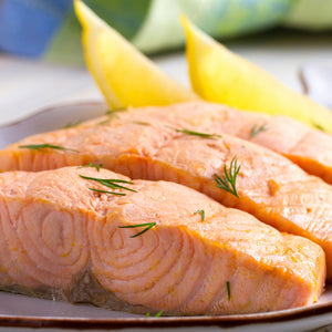 Grilled or Poached Salmon for two