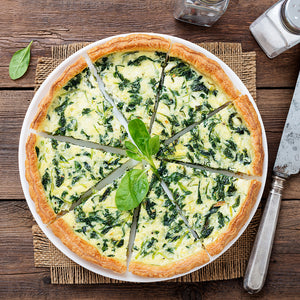 Quiche Spinach (multiple sizes available)