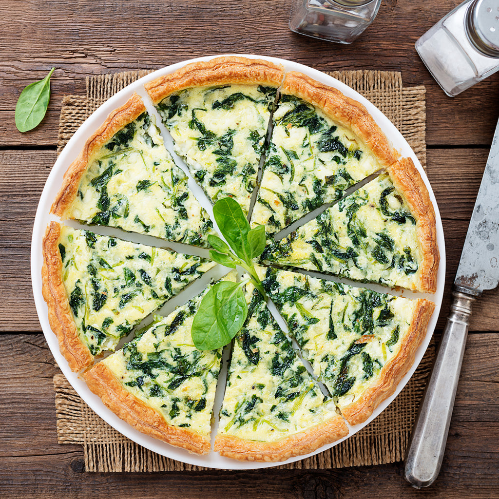 Spinach Quiche - TH