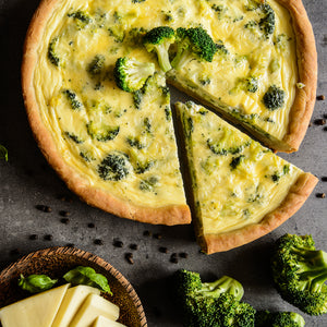 Broccoli Quiche - HA