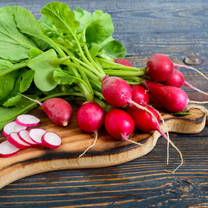 RADISHES, CELLO (by the container)