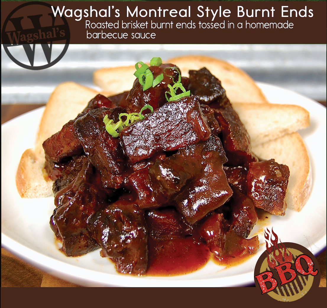 Wagshal's Montreal Style Burnt Ends