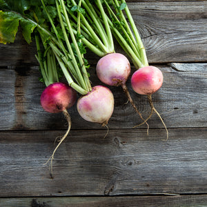 TURNIPS (by the pound)