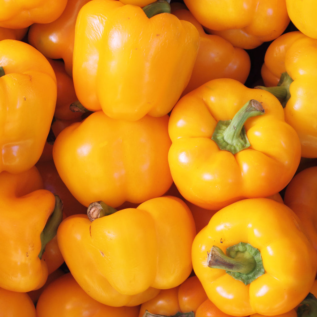 PEPPERS, YELLOW IMPORT (by the pound)