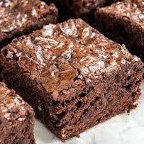 Chocolate Brownies (3 squares)