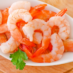 Cooked Jumbo Cocktail Shrimp