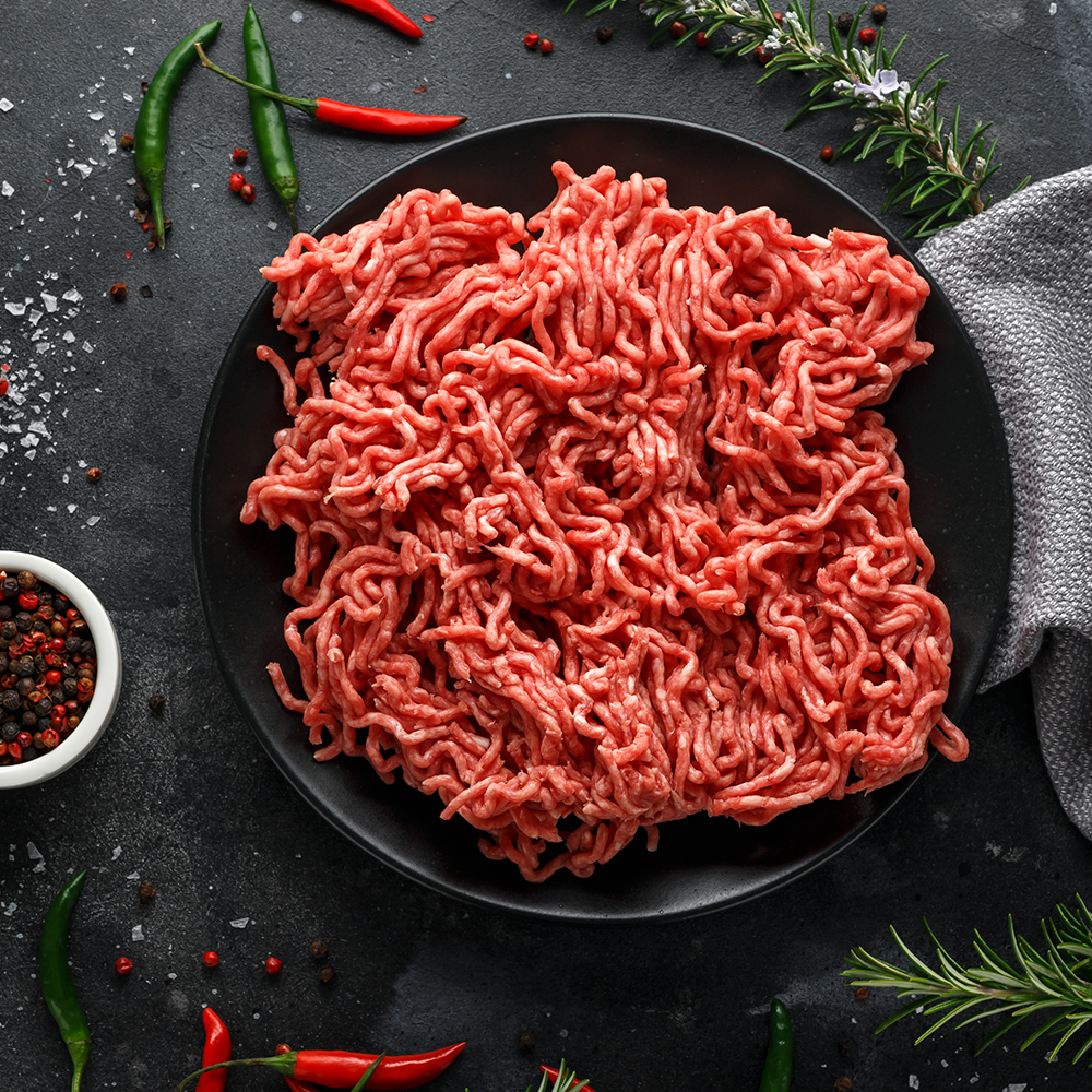 Ground Tenderloin Beef (1/2 lb)