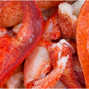 Lobster Meat (cooked, sold by the 1/2 pound)
