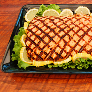 Grilled Salmon - YK