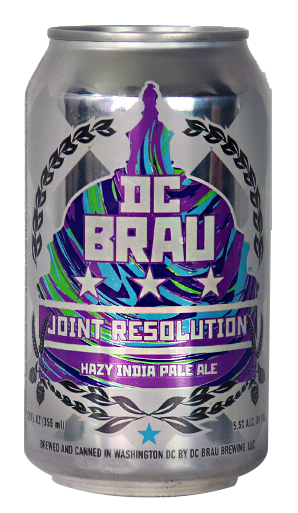 DC Brau Joint Resolution Hazy IPA 6 pack