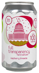 Full Transparency Raspberry Lime Hard Seltzer 6 pack