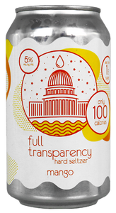 Full Transparency Mango Hard Seltzer 6 pack