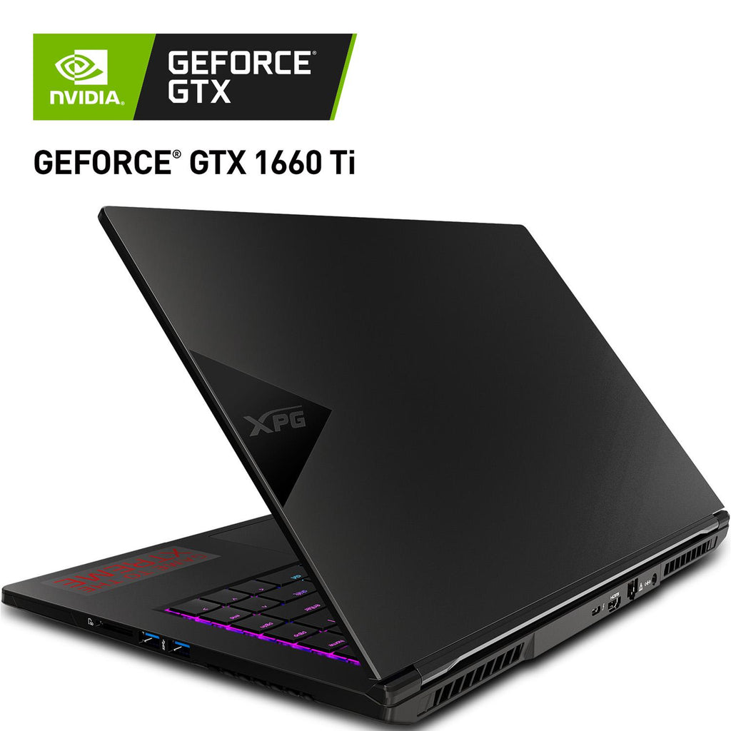 Laptop Gamer XPG Xenia 15.6 NVIDIA GeForce GTX 1660 Ti Intel Core i7