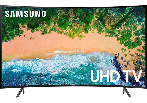 Televisor SAMSUNG Led 55 Smart TV 4K Ultra HD Curvo HDMI USB UN55NU7300 3M GTA ReAcondicionado