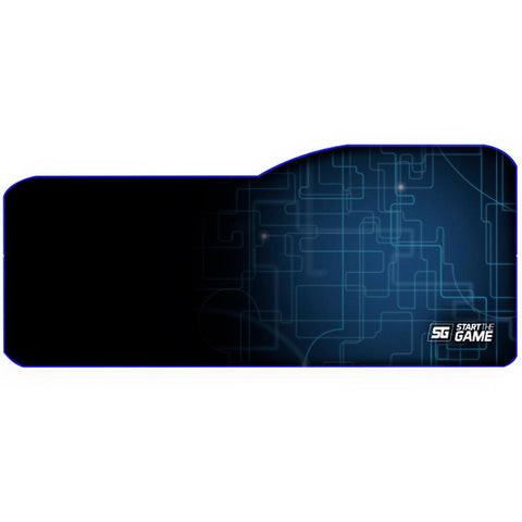 MousePad Gamer VORAGO START THE GAME MPG-300 XL Speed Control Negro