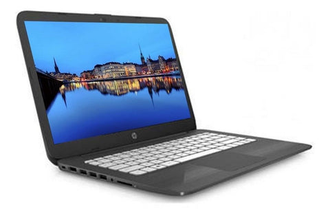 Laptop HP Intel Celeron N4000 4GB SSD 32GB 14 Negro 14-CB130NR 3M GTA ReAcondicionado