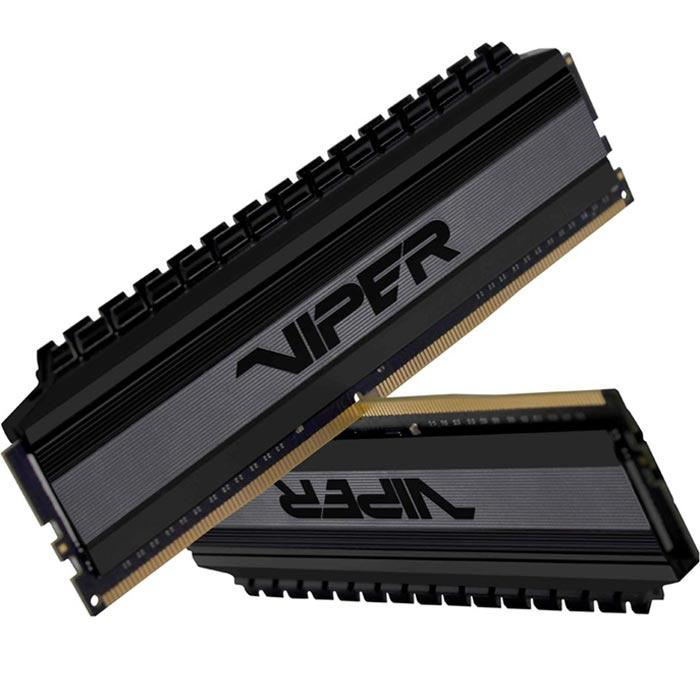 Memoria RAM DDR4 32GB 3200MHz PATRIOT VIPER BLACKOUT 2x16GB PVB432G320C6K