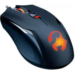 Mouse Gamer GENIUS Optico AMMOX X1-400 3200DPI USB Negro/Rojo 31040033104