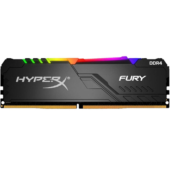 Memoria RAM DDR4 16GB 3000MHz KINGSTON HYPERX FURY RGB HX430C15FB3A/16