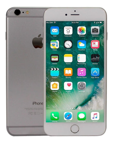 Celular APPLE iPhone 6 Plus 16GB iOS 12.3.1 A8 Silver 1M GTA Reacondicionado