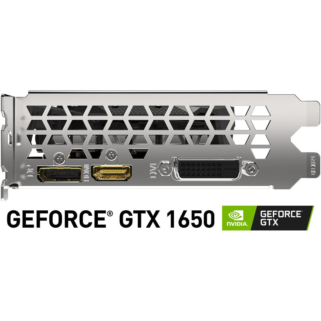 Tarjeta de Video GIGABYTE GeForce GTX 1650 4GB GDDR6 GV-N1656WF2OC-4GD