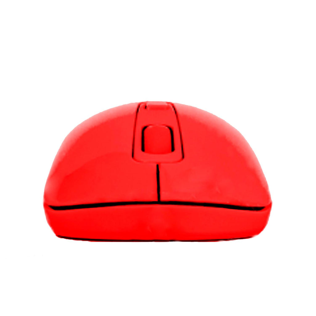 VORAGO Mouse 207 Optico Inalambrico Rojo MO-207