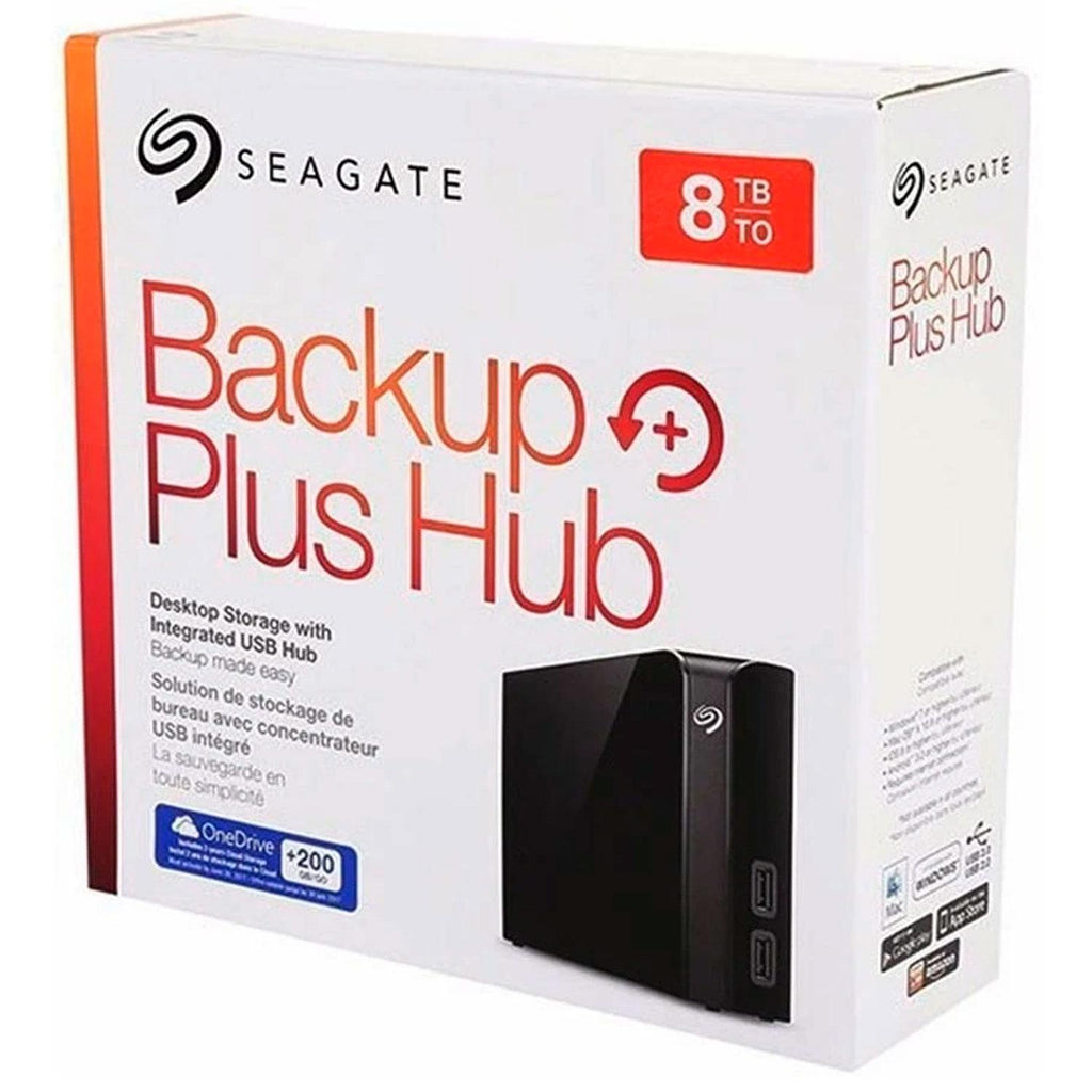Disco Duro Externo 8TB Seagate Backup Plus Desktop USB 3.0 STEL8000100