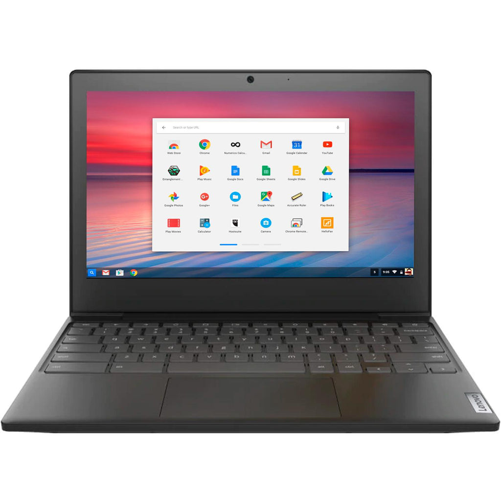 Laptop LENOVO CHROMEBOOK Intel Dual Core N4020 4GB SSD 32GB Pantalla 11.6 WIFI